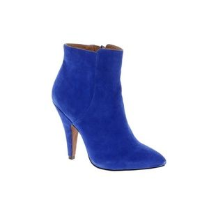 Blue Suede Ankle Boot   Aldo   Size 8